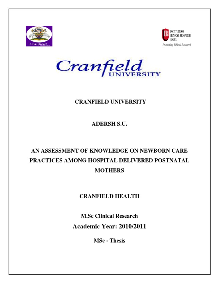 cranfield msc thesis Other cranfield research and theses search cranfield ceres - the university digital repository of research output (also contains books chapters, working papers, technical reports, journal pre-prints, and peer-reviewed journal reprints) find cranfield campus online postgraduate theses in the masters theses archive.