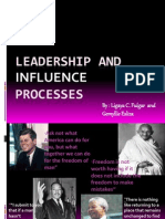 Leadership and Influence Processes_report