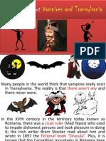 Vampires and Transylvania