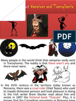 Vampires and Transylvania