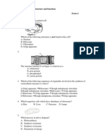 Quiz Cell Str and Function