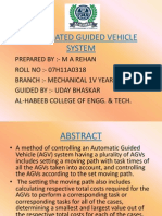 Automated Guided Vehicle by rehan