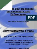 Aula Pos Graduacao Enfermagem Diagnsotico e Quimioterapia