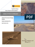 Isiolo Airport Executive Summary