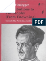 Contributions to Philosophy From Enowning Studies in Continental Thought