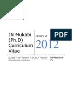 Mukabi Jn (Ph.d)_cv_edited Jan2012