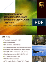 UPS Supply Chain