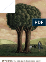 Dividends the 2011 Guide to Dividend Policy Trends and Best Practices