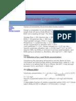 Design of Activated Sludge System