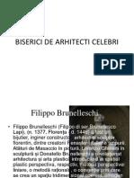 Biserici de Arhitecti Celebri 2003