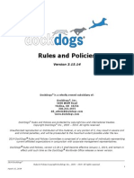 DockDogs Rules & Policies