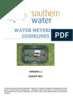 Water Metering Guidelines September 2011 - Approved