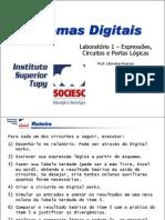 Lab 1 - Algebra Booleana e Portas Logicas 100726