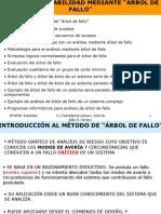 ANÁLISIS DE FIABILIDAD MEDIANTE - ÁRBOL DE FALLO