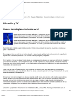 Nuevas tecnologías e inclusión social _ Debates _ Educación y TIC _ educ