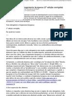 Voto obrigatório e hegemonia burguesa (2ª edição corrigida) - Ciranda