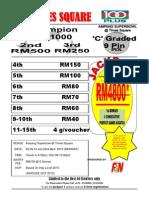 c Graded 9 Pin Tap 2012 on April