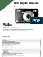 ViviCam X024 Camera Manual