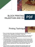 Block Rajasthan and Gujarat