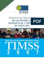 ejemplo preguntas TIMSS