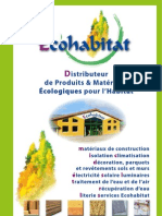 Catalogue Eco Habitat