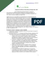 Recomendaciones La Ciudad Verde al Plan de Desarrollo de Antioquia