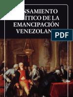 pensamiento politico de la emancipacion venezolana.
