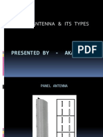 Panel Antenna Ppt- Akash Ray