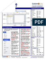 Visio Quick Reference 2010