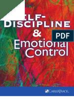 Self-Discipline and Emotional Control Workbook