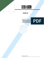 NBR 61 Abnt Iso Iec Guia 61 - Requisitos Gerais Para Avaliacao E Credenciamento de Organismos De