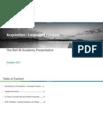 Acquisition  Leveraged Finance%28한성원%29