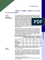 ICRA Union Budget 2012-13
