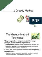 PPT on Greedy Algorithms Final