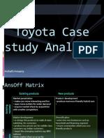 Toyota Case Study Analysis