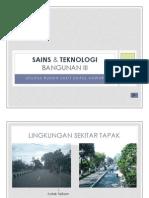 Sains & Teknologi Bangunan III