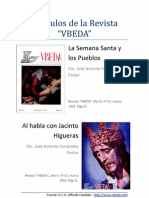 Articulos Semana Santa Revista Vbeda - Por Jose Antonio Fernandez Pastor