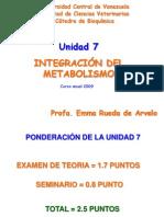42874577-UNIDAD-7-INTEGRACIN-METABOLICA