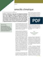 Épée de Damoclès climatique