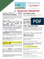 Week 29 Newsletter