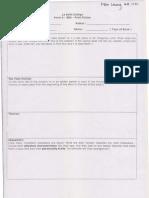 English SBA Book Report Format
