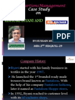 Kishore Biyani and Big Bazaar
