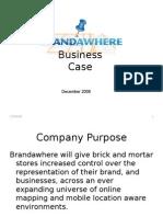 Brand a Where Biz Case - December FINAL