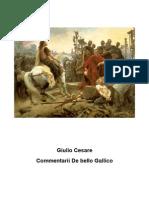 Giulio Cesare - Commentarii de Bello Gallico