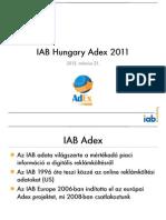 IAB Hungary Adex 2011