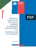 Informe de Principales Logros Del Gobierno Octubre 2011