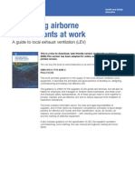 Controlling Airborne Contaminants at Work Hsg258