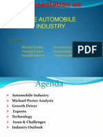 Presentation on Automobile Industry1