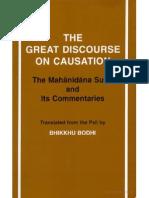The Great Discourse on Causation (Mahānidāna Sutta) - Bhikkhu Bodhi