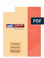 Uti-leadership Equity Fund OD